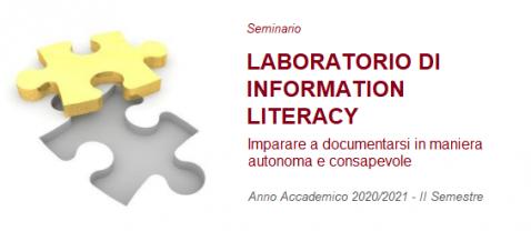 Laboratorio di Information Literacy