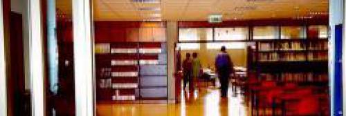 """sala del centro di documentazione europea """"Altiero Spinelli"""""""
