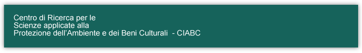 CIABC - Research Center of Applied Science for the Protection of Environment and Cultural Heritage