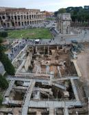Excavation in Palatine