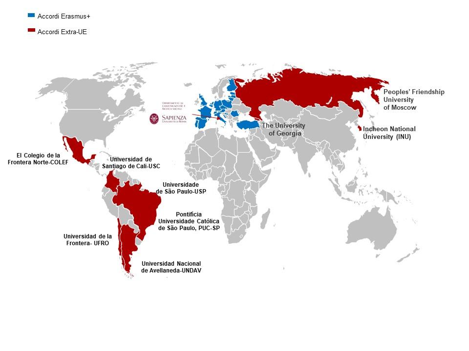 mappa acordi europei ed extra-eu