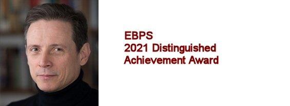 Prof. Aldo Badiani - 2021 Distinguished Achievement Award