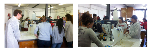 laboratorio didattico studenti