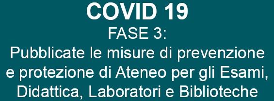 covid19 fase tre misure di prevenzione