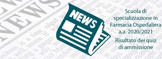 Risultati quiz ammissione SSFO 2020/21