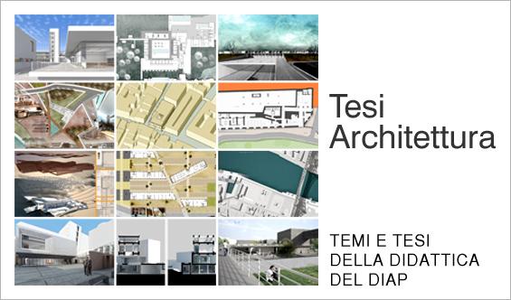 Miniature Tesi Architettura