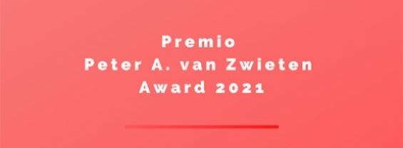 Premio Peter A. Van Zwieten Award 2021