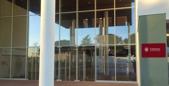 New building entrance