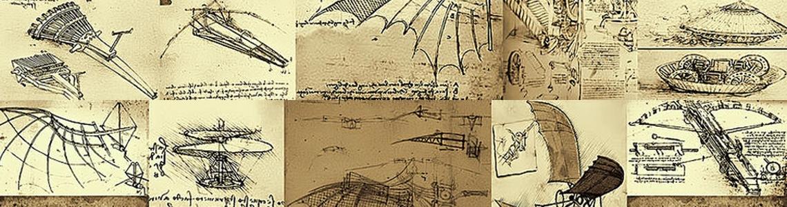 Leonardo Da Vinci inventions poster