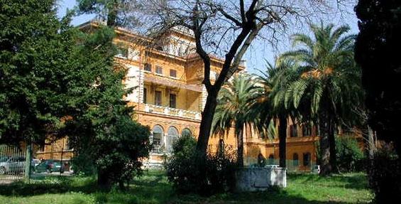 immagine di Villa Mirafiori - Facciata laterale