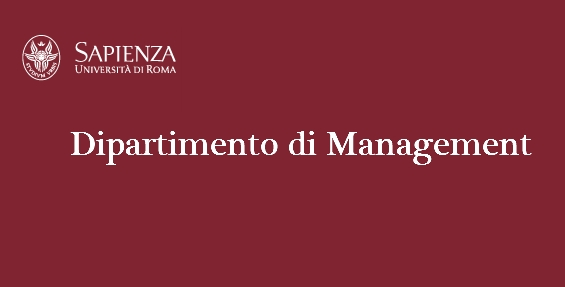 Benvenuti nel Dipartimento di Management