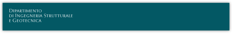 DISG - Dipartimento di Ingegneria Strutturale e Geotecnica