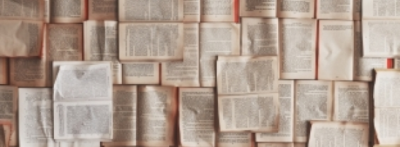 fogli di libri