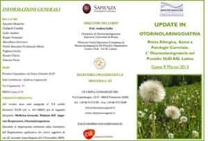 Update in Otorinolaringoiatria: Rinite allergica, Asma e patologie correlate