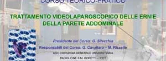 TRATTAMENTO VIDEOLAPAROSCOPICO DELLE ERNIE DELLA PARETE ADDOMINALE