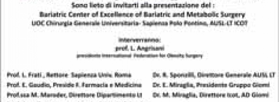 invito Bariatric Center of Excellence of Bariatric and Metabolic Surgery