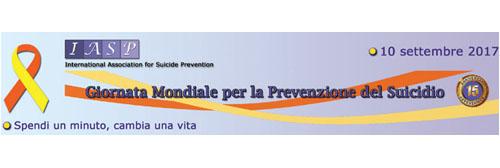 Giornata Mondiale per la Prevenzione del Suicidio 2017