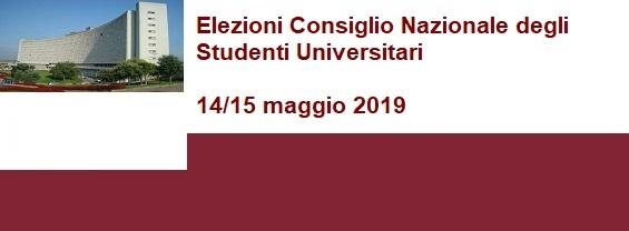 Elezioni Consiglio Nazionale degli Studenti Universitari