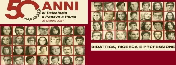 50 anni di Psicologia a Padova e Roma