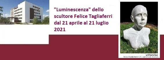 """Cerimonia per la posa dell'opera """"Luminescenza"""" dello scultore Felice Tagliaferri"""