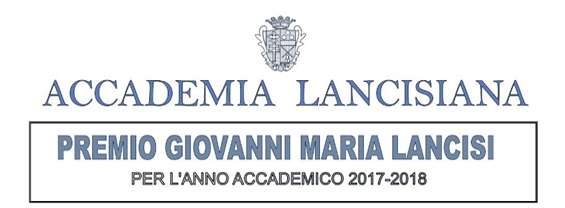 Accademia Lancisiana ISTITUZIONE DI 5 PREMI ONORIFICI PER GIOVANI LAUREATI