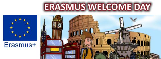 Erasmus welcome day - Modalità digitale - 16 Settembre