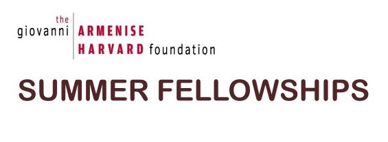Summer Fellowship presso la Harvard Medical School (HMS)