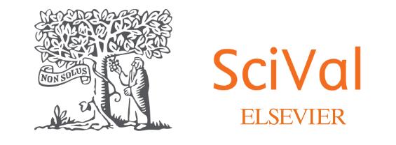 L'immagine mostra il logo del servizio SciVal per promuovere l'evento di presentazione del servizio