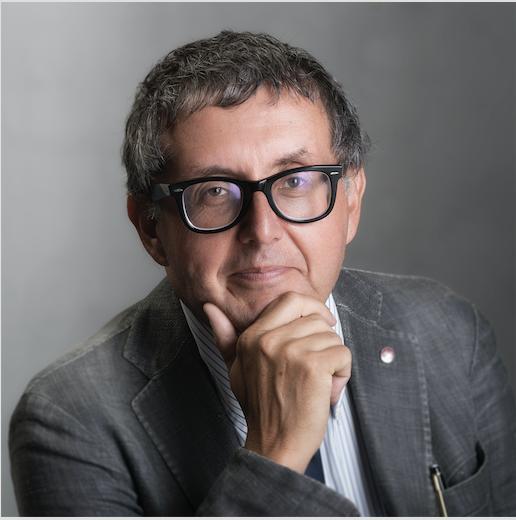 Prof. Carlo Della Rocca, Preside della Facoltà di Farmacia e Medicina