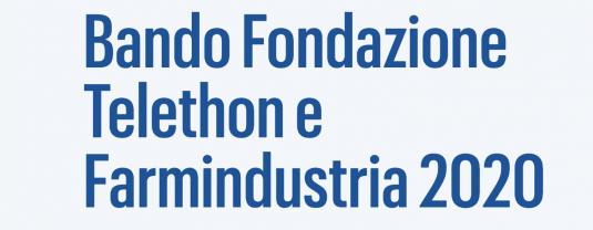 Bando Premi Telethon-Farmindustria 2020