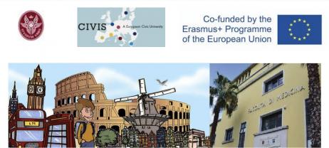 4 Marzo 2021 - Presentazione ONLINE del Bando Erasmus+ per motivi di studio a.a. 2021/2022, Polo Pontino