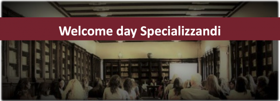 Welcome day Specializzandi