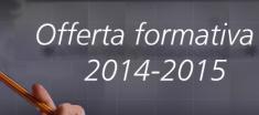 Offerta formativa 2014/2015