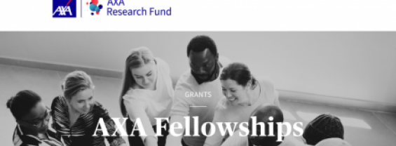 AXA Research Fund - POST-DOCTORAL FELLOWSHIPS