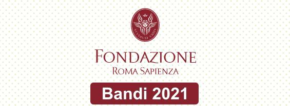 Bandi e borse di studio della Fondazione Roma Sapienza (scadenza 30 settembre)