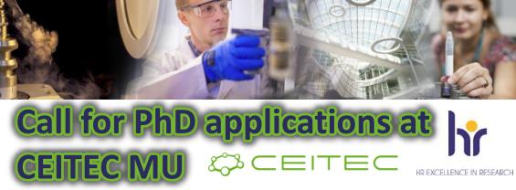 Bando per il Dottorato alla CEITEC School in Life Sciences and Molecular Medicine. Scadenza 28/02/2021