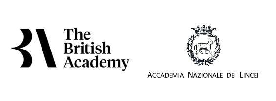 Loghi dell'Accademia Nazionale dei Lincei e della British Academy