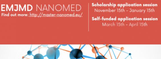Erasmus Mundus Joint Master Degree Nanomedicine for Drug Delivery