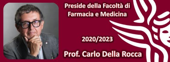 L'immagine mostra il Preside Prof. Carlo Della Rocca eletto Preside per il trienno 2020/2023