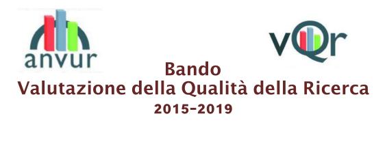 Bando Valutazione della Qualità della Ricerca 2015-2019