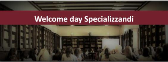 Welcome day Specializzandi