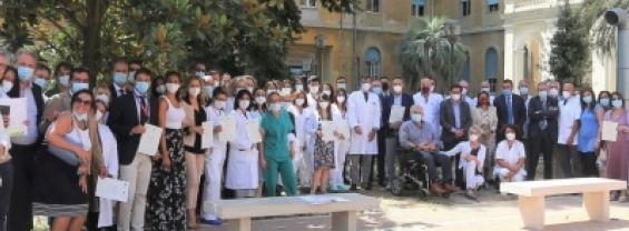 Il Policlinico Umberto I premia i lavoratori in prima linea nell'emergenza Covid