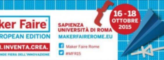 Concorso per la partecipazione alla Maker Faire nello stand di Sapienza Università di Roma