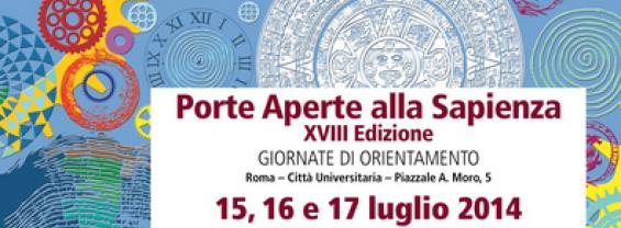 Porte aperte alla Sapienza 2014