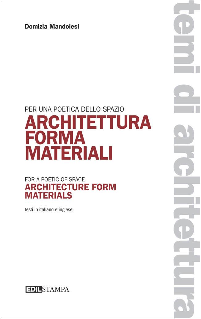 Architettura Forma Materiali