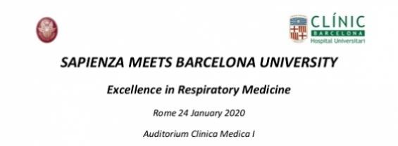Sapienza Meets Barcellona University - Excellence in Respiratory Medicine