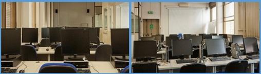 Foto Laboratorio Linguistico - piano 3 ala presidenza