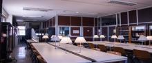 Sala lettura Bruno de Finetti 1° piano