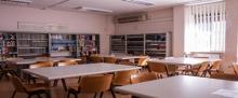 Sala lettura Ferdinando Milone 5° piano