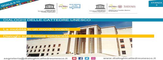 Immagine Dialoghi delle Cattedre Unesco